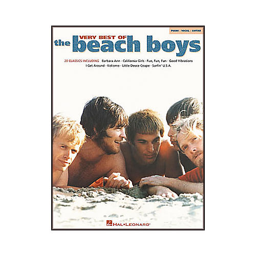 Hal Leonard Very Best of The Beach Boys Piano, Vocal, Guitar Songbook