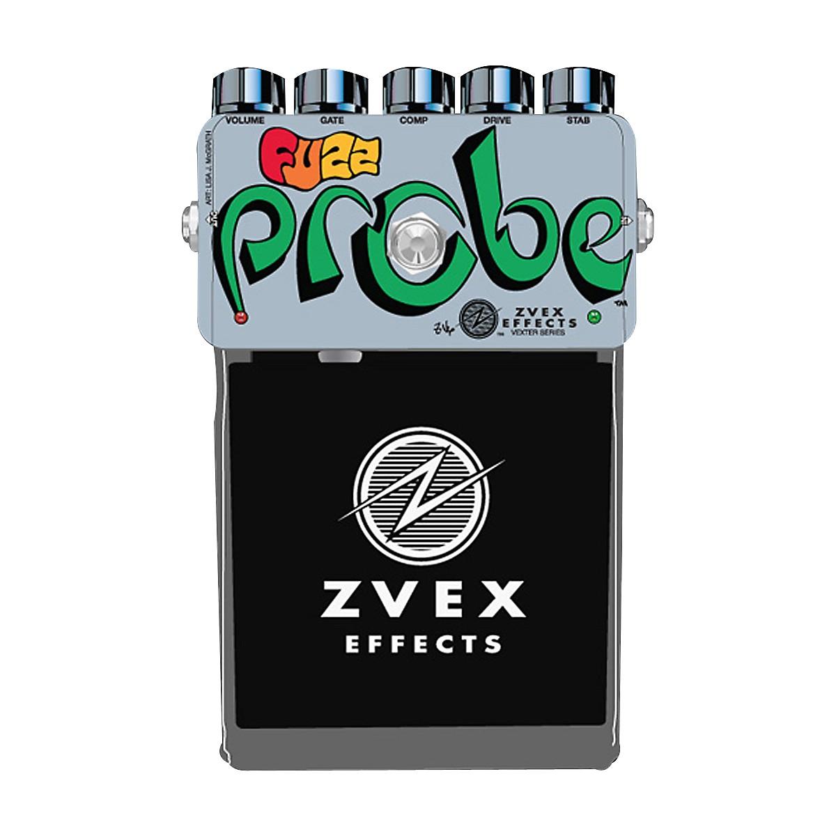 ZVex Vexter Series Fuzz Probe Guitar Effects Pedal