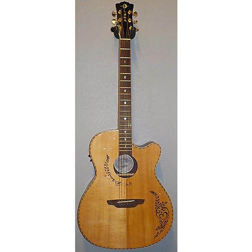 Luna Guitars Vg-sig Acoustic Electric Guitar