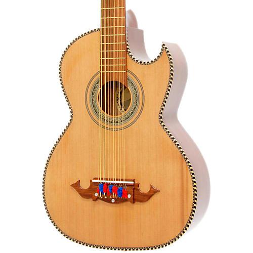 paracho elite guitars victoria p 12 string acoustic electric bajo sexto natural guitar center. Black Bedroom Furniture Sets. Home Design Ideas