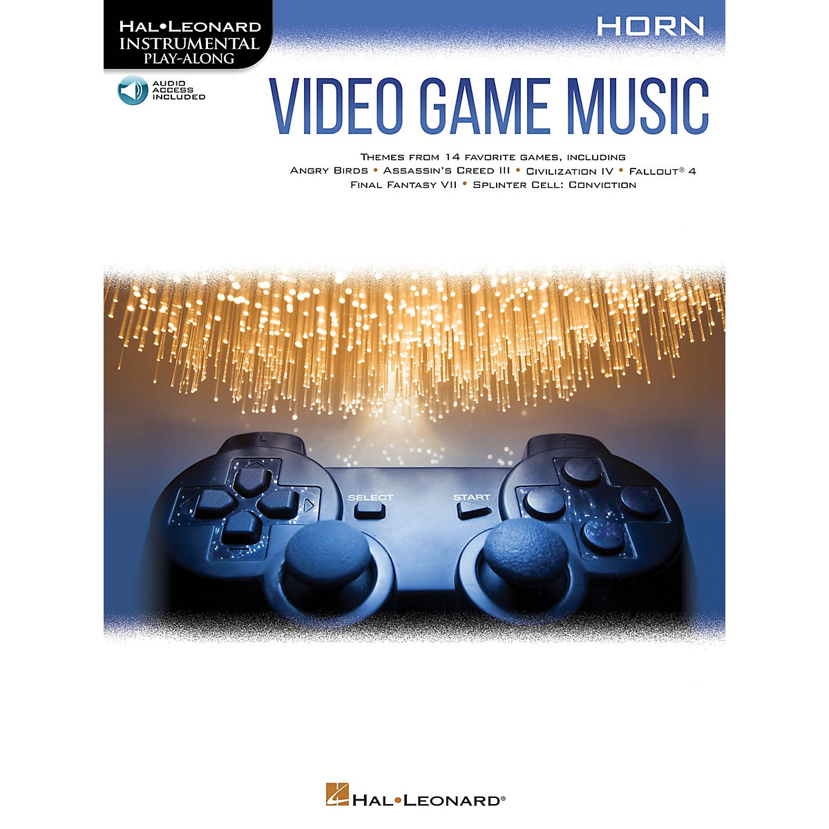 Hal Leonard Video Game Music for Horn Instrumental Play-Along Book/Audio Online