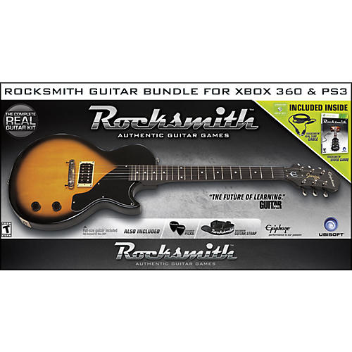rocksmith video game xbox 360 guitar center. Black Bedroom Furniture Sets. Home Design Ideas