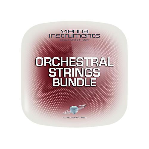 Vienna Instruments Vienna Orchestral Bundle Strings Extended (requires standard) Software Download