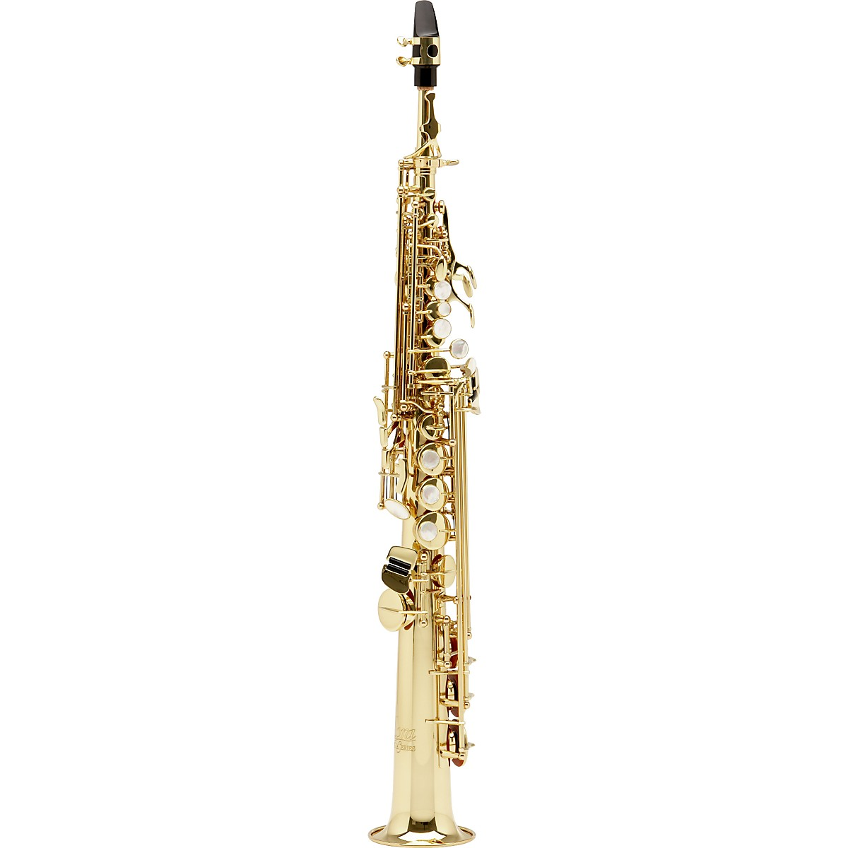Allora Vienna Series Intermediate Straight Soprano Saxophone with Two Necks