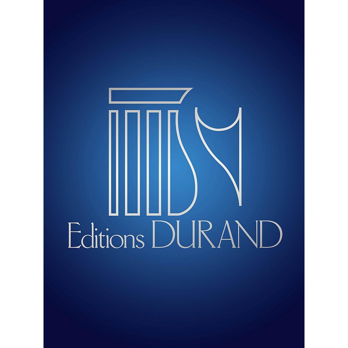 Editions Durand Viens! Une Flute invisible soupire (Voice, flute and piano) Editions Durand Series by André Caplet
