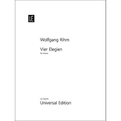 Carl Fischer Vier Elegien - Piano