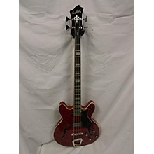 Hagstrom Viking Hollowbody Electric Bass Guitar
