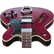 Viking Semi-Hollowbody Electric Guitar Wild Cherry