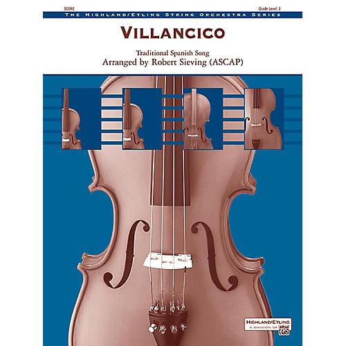 Alfred Villancico String Orchestra Grade 3