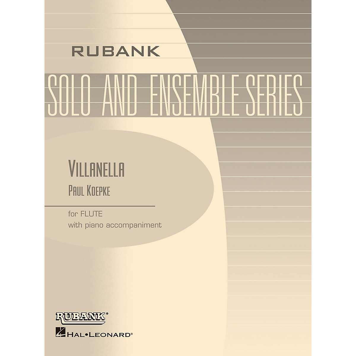 Rubank Publications Villanella (Flute Solo with Piano - Grade 3) Rubank Solo/Ensemble Sheet Series