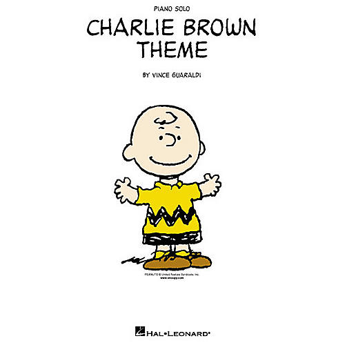 Hal Leonard Vince Guaraldi: Charlie Brown Theme Piano Book