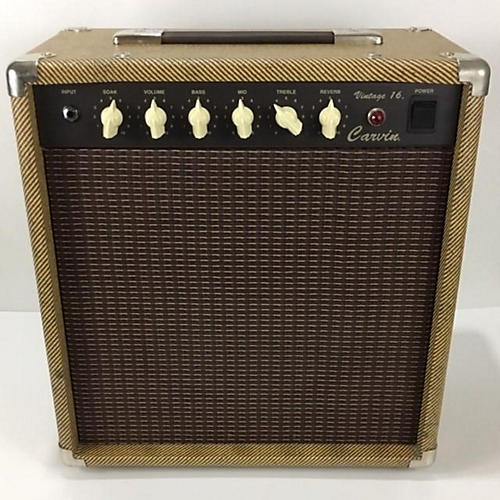 used carvin vintage 16 tube guitar combo amp guitar center. Black Bedroom Furniture Sets. Home Design Ideas
