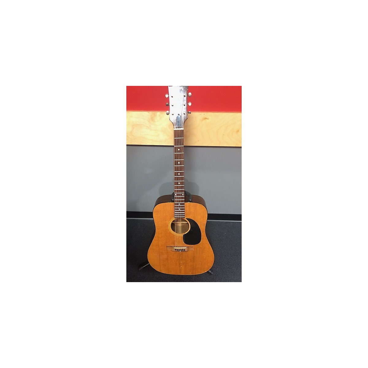 In Store Vintage Vintage 1870s 1970s Gibson J-40 Natural Acoustic Guitar
