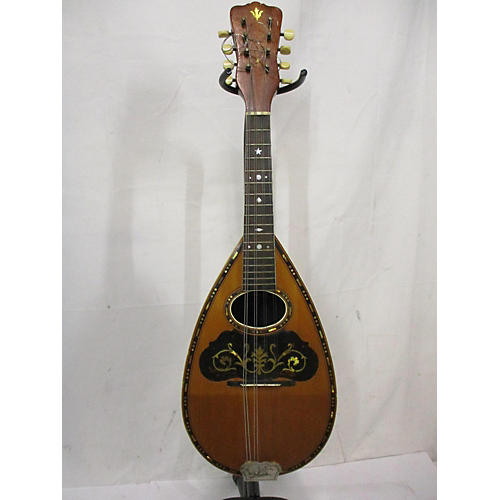 In Store Vintage Vintage 1910s Supertone A Type Antique Amber Mandolin