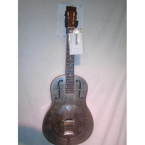 vintage 1920s 1920s steel body guitar hawaiian decal metal alloy acoustic guitar metal alloy. Black Bedroom Furniture Sets. Home Design Ideas