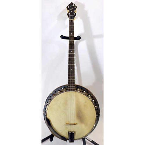 In Store Vintage Vintage 1920s May Bell Lucero Tenor Natural Banjo