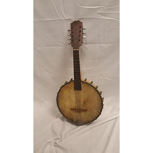 In Store Vintage Vintage 1920s Weymann Brothers Banjo Mandolin Natural Banjo