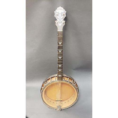 In Store Vintage Vintage 1930s LANGSTILE 4 STRING BANJO Natural Banjo