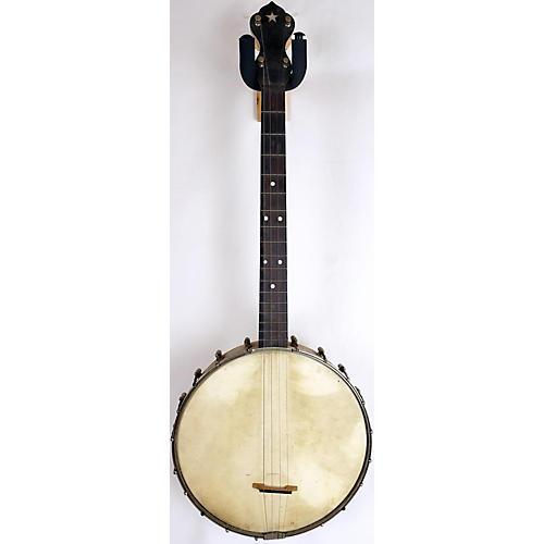 In Store Vintage Vintage 1930s MAYBELL SLINGERLAND Natural Banjo