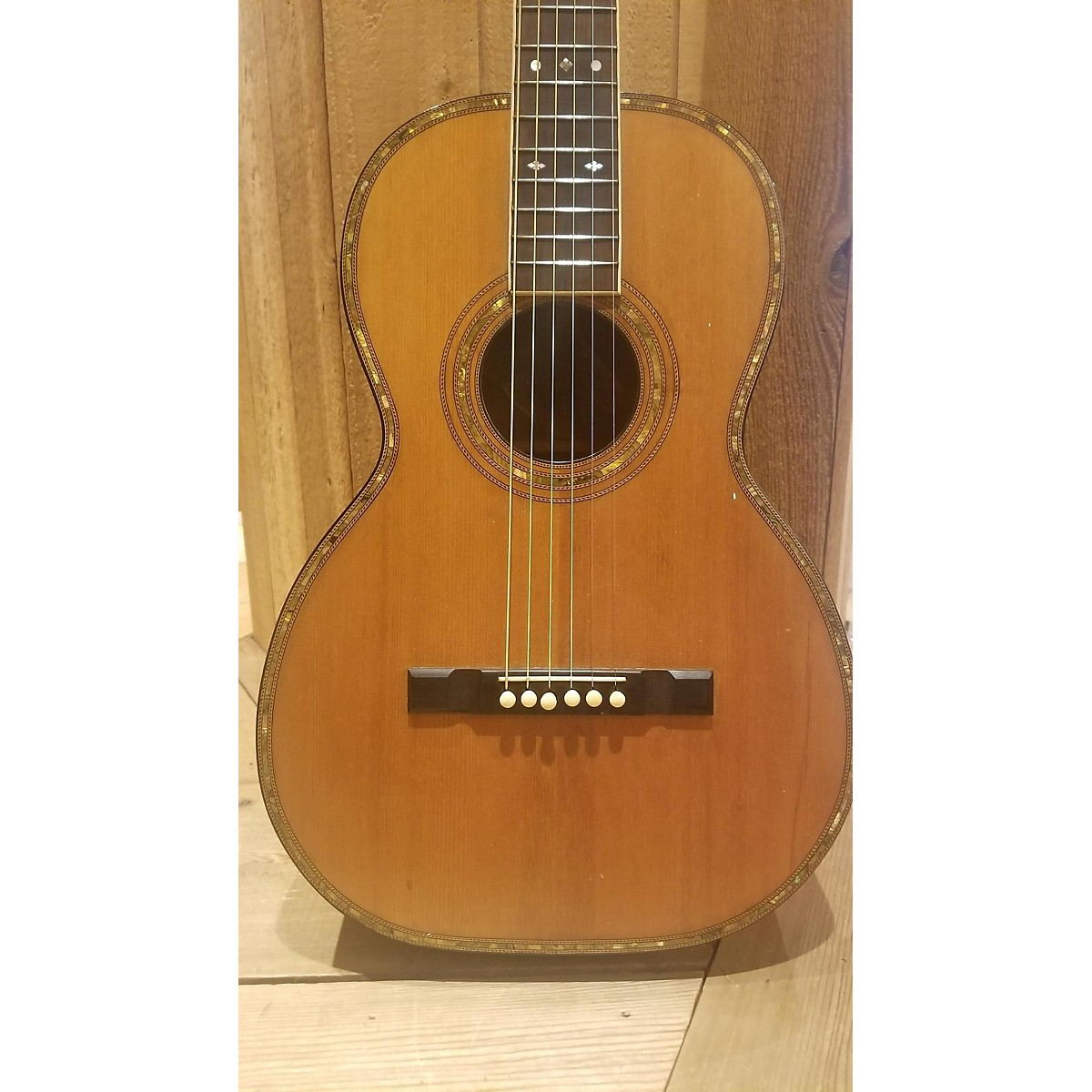 In Store Vintage Vintage 1940s HARWOOD ACOUSTIC Natural Acoustic Guitar