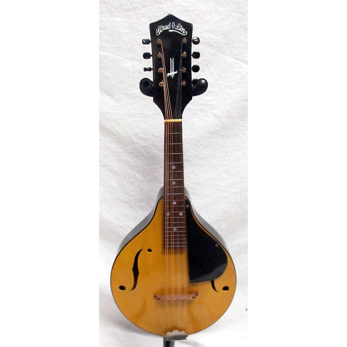 In Store Vintage Vintage 1940s Strad O Linn A Style Vintage Natural Mandolin