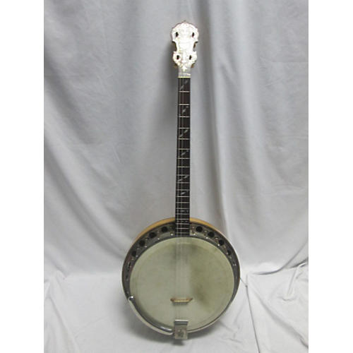 In Store Vintage Vintage 1940s Will Lange Paramount Style A Tenor Natural Banjo