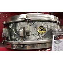 Vintage 1950s Leedy & Ludwig 4X14 New Era Black Diamond Pearl Drum