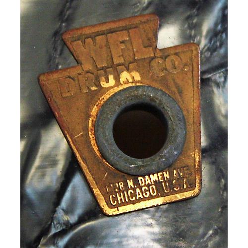 In Store Vintage Vintage 1950s WLF 6.5X14 SYMPHONIC SNARE BDP Drum BLACK DIAMOND PEARL