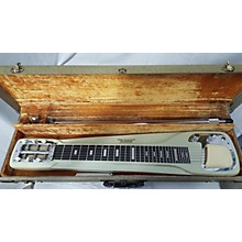 Vintage 1956 White Matching Steel With Amp White Lap Steel