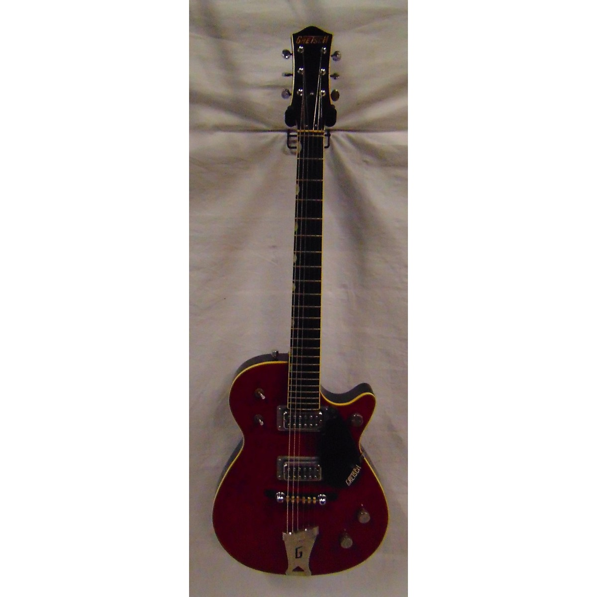 In Store Vintage Vintage 1960 Gretsch Fire Jet Red Solid Body Electric Guitar