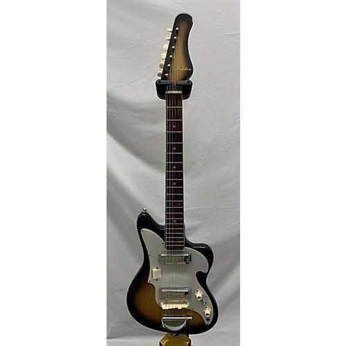 In Store Vintage Vintage 1960s Audition Guitar 2 Color Sunburst Hollow Body Electric Guitar