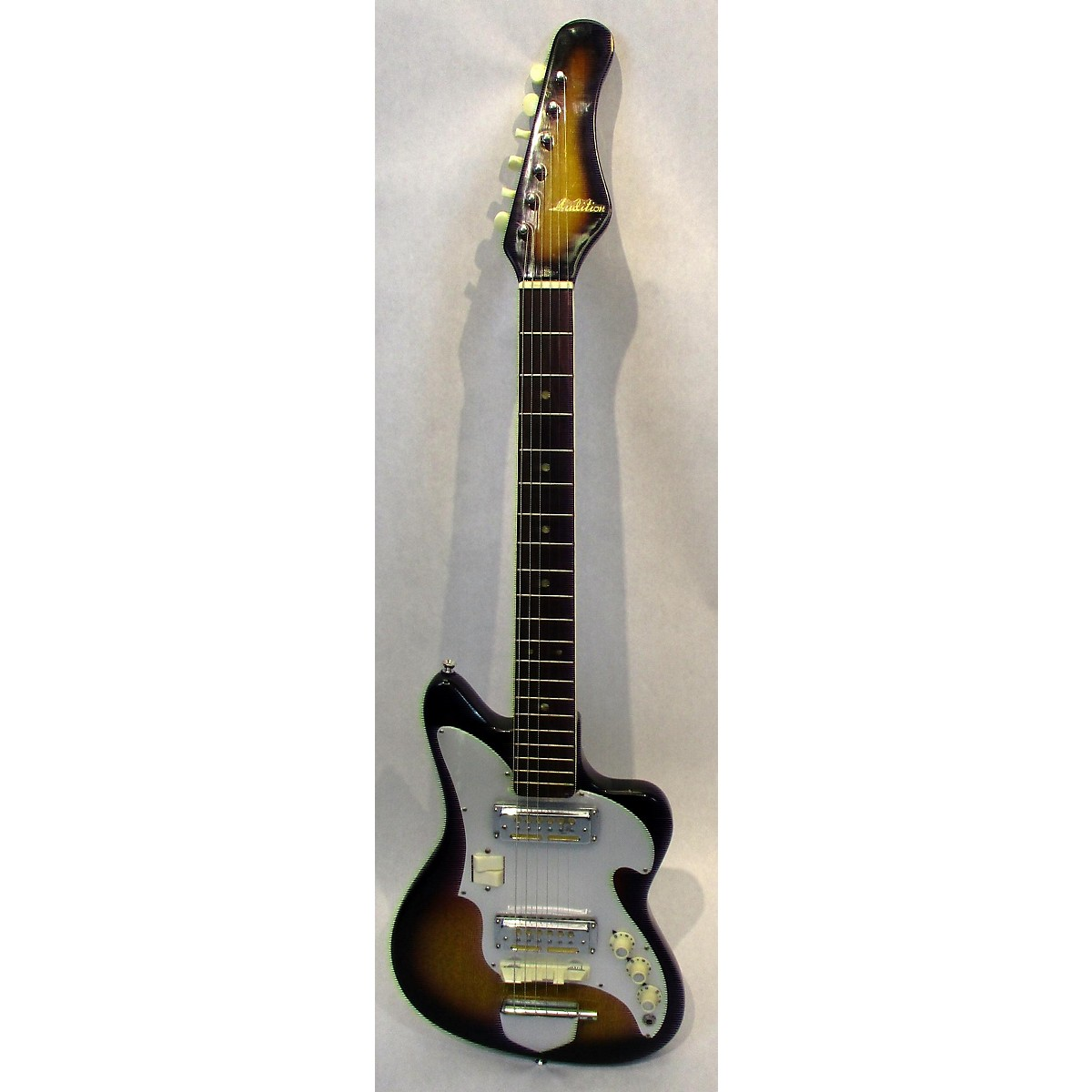 In Store Vintage Vintage 1960s Audition Guitar Sunburst Solid Body Electric Guitar