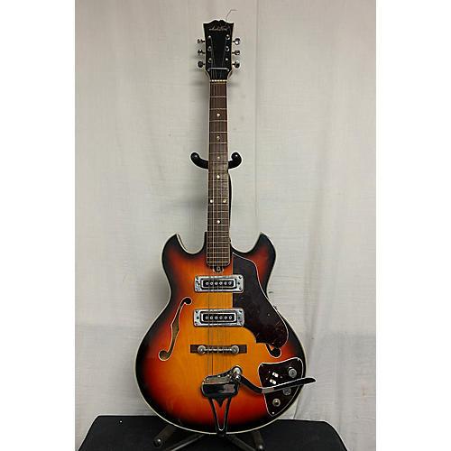 In Store Vintage Vintage 1960s Audition Miscellaneous Sunburst Hollow Body Electric Guitar
