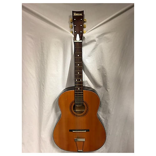 In Store Vintage Vintage 1960s Decca DM1-204 Natural Acoustic Guitar