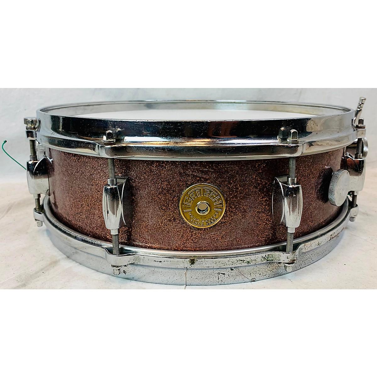 In Store Vintage Vintage 1960s GRETSCH 5X14 MAX ROACH Drum PINK SPARKLE