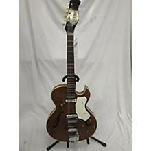 Vintage 1960s Hopf ALLROUND Natural Acoustic Electric Guitar