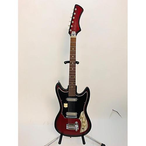 In Store Vintage Vintage 1960s Intermark Cipher 2 Color Sunburst Solid Body Electric Guitar