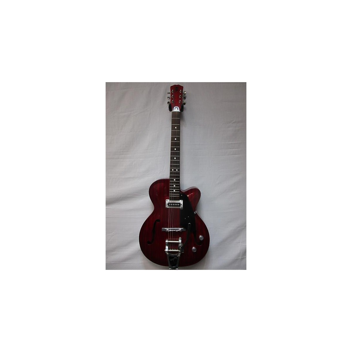 In Store Vintage Vintage 1960s JULIO GIULIETTI A2 Red Hollow Body Electric Guitar