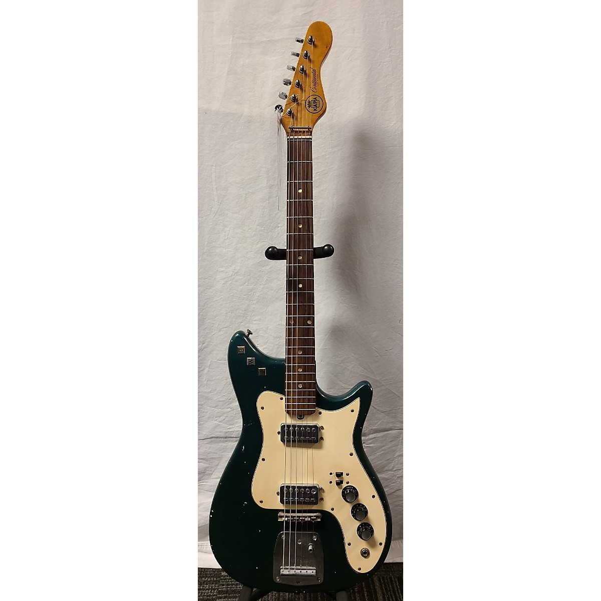 In Store Vintage Vintage 1960s Kapa Continental Green Solid Body Electric Guitar