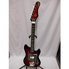 Vintage 1960s ORPHEUS TIESCO 1PU Red Solid Body Electric Guitar