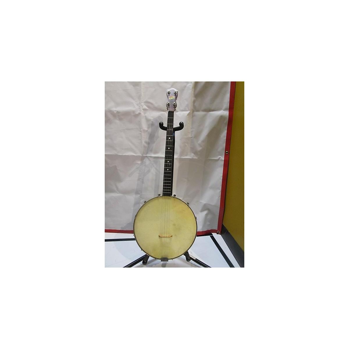 In Store Vintage Vintage 1960s Rotary Deluxe Banjo Natural Banjo