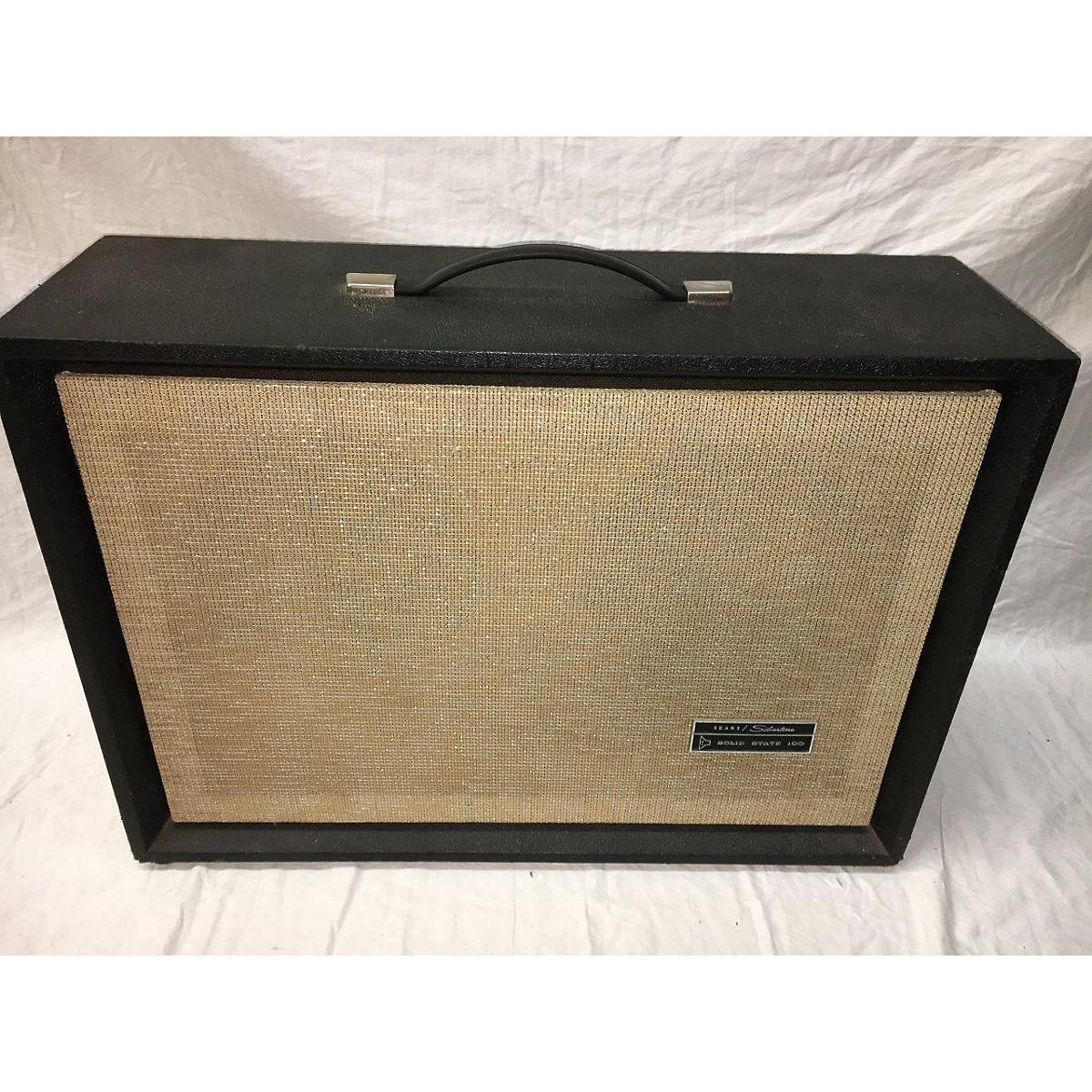 In Store Vintage Vintage 1960s SEARS SILVERTONE 2X12 Guitar Cabinet