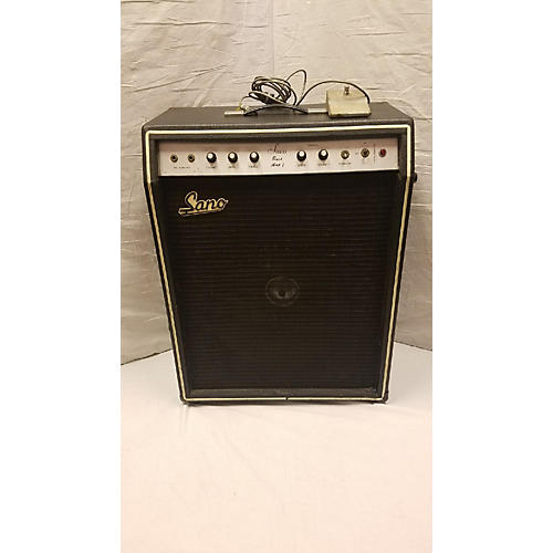 In Store Vintage Vintage 1960s Sano Bass Amp 1 Bass Combo Amp