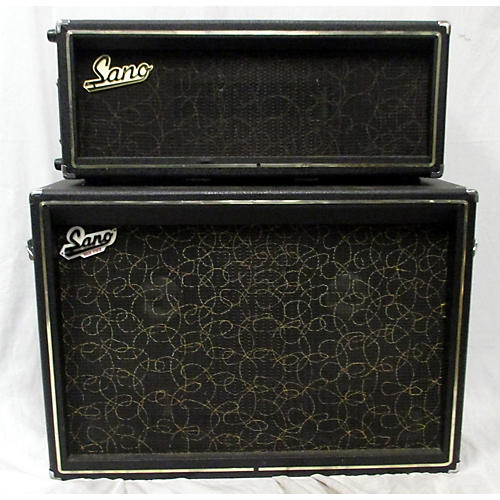 In Store Vintage Vintage 1960s Sano Solid State Half Stack Guitar Combo Amp