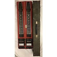 Vintage 1960s Sierra Pedal Steel Flat Red Lap Steel