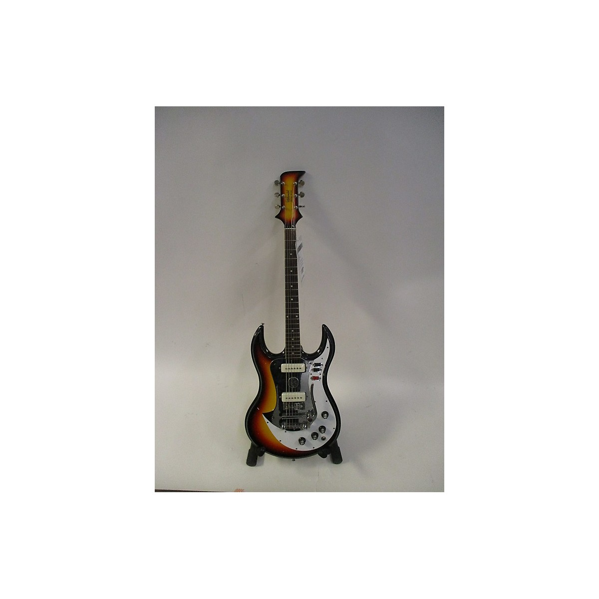 In Store Vintage Vintage 1960s Standel Custom Deluxe Vintage Sunburst Solid Body Electric Guitar