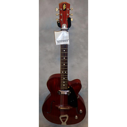 In Store Vintage Vintage 1962 Julio Giulietti A2 Red Hollow Body Electric Guitar