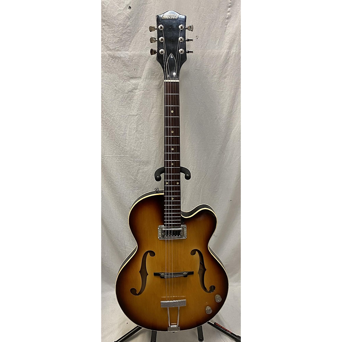In Store Vintage Vintage 1966 GRETSCH CLIPPER Sunburst Hollow Body Electric Guitar