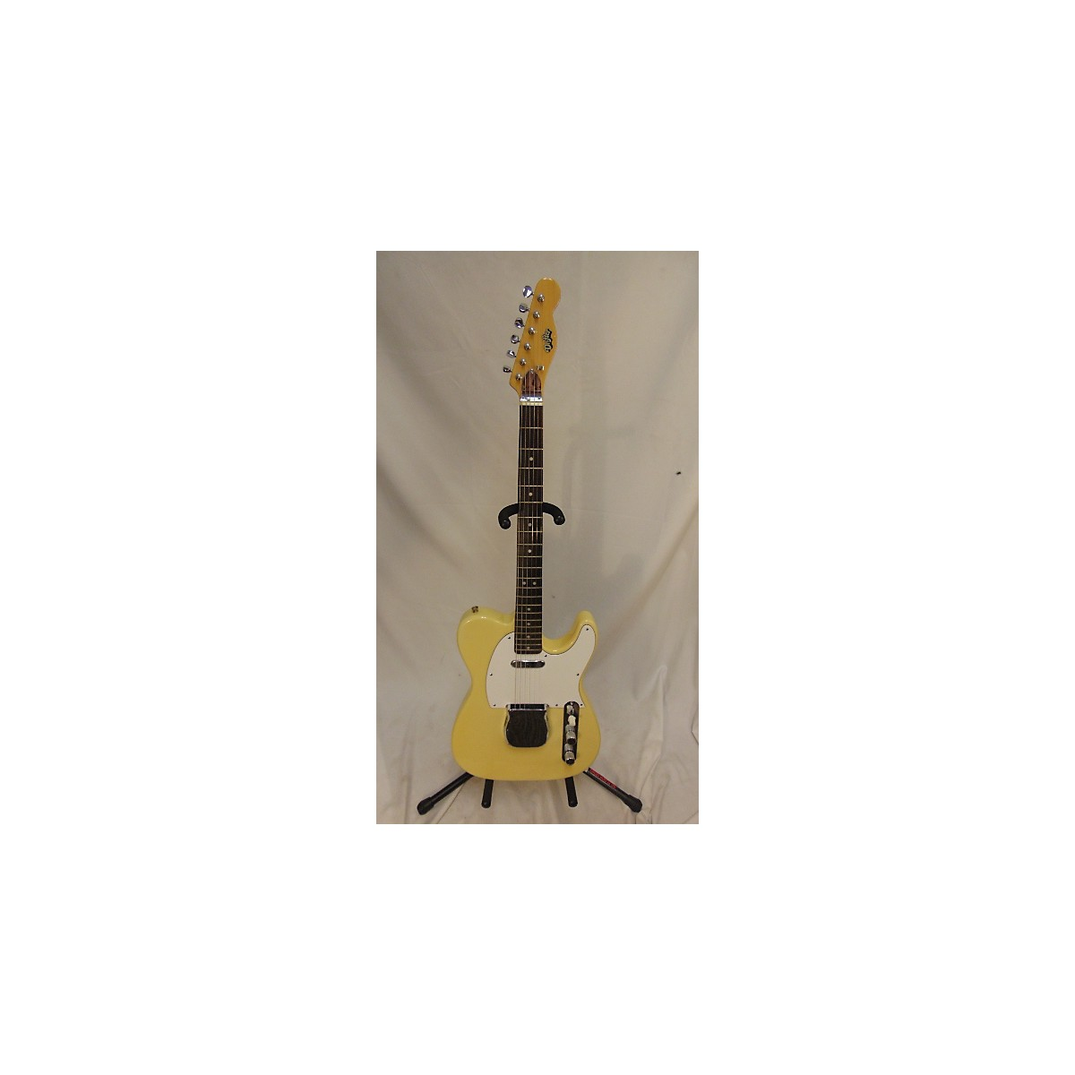 In Store Vintage Vintage 1969 Drifter T Style Vintage Yellow Solid Body Electric Guitar
