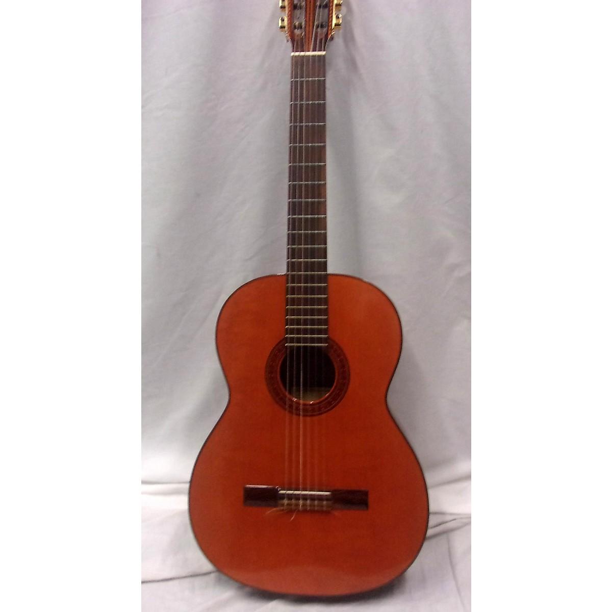 In Store Vintage Vintage 1970 Hernandis Classical Vintage Natural Classical Acoustic Guitar